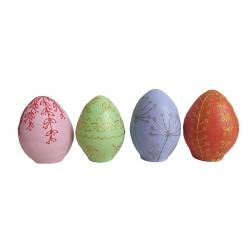 تخم مرغ تزیینی طرح هفت سین مجموعه 4 عددی