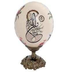 تخم شترمرغ  تزیینی مدل m11