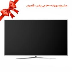 تلویزیون ال ای دی هوشمند جی پلاس مدل GTV-65LU721S سایز 65 اینچ