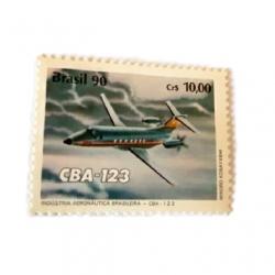 تمبر یادگاری مدل هواپیما کد CBA-123