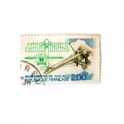تمبر یادگاری مدل هواپیما رولان گاروس کد 1988
