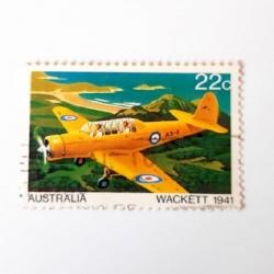 تمبر یادگاری مدل هواپیمای استرالیا کد 1941