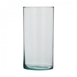 تنگ ماهی مدل استوانه شیشه ای