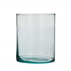 تنگ ماهی مدل استوانه شیشه ای k010
