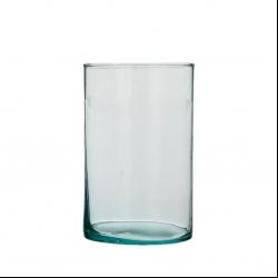 تنگ ماهی مدل استوانه شیشه ای k015