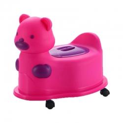 توالت فرنگی کودک مدل خرس