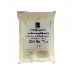 تیپ کاشت ناخن پرولایز شماره P80 بسته 500 عددی