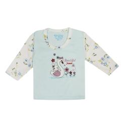 تی شرت آستین بلند نوزادی مدل 988585BU