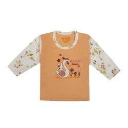 تی شرت آستین بلند نوزادی مدل 988585OR