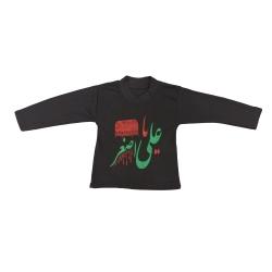 تی شرت آستین بلند نوزادی مدل محرمی M3                     غیر اصل