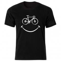 تیشرت آستین  کوتاه بچگانه  طرح  لبخند دوچرخه   کد BT157