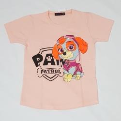 تی شرت آستین کوتاه دخترانه مدل 4055