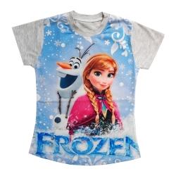 تی شرت آستین کوتاه دخترانه مدل آنا