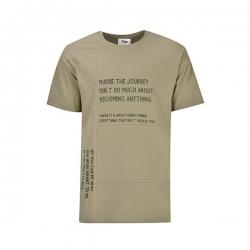 تیشرت آستین کوتاه مردانه بادی اسپینر مدل 2829 کد 1 رنگ سبز