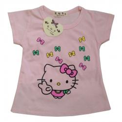 تی شرت آستین کوتاه نوزادی دخترانه کد  105                     غیر اصل