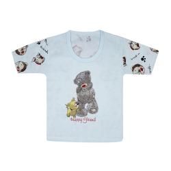 تی شرت آستین کوتاه نوزادی مدل 988828BU