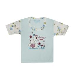 تی شرت آستین کوتاه نوزادی مدل 988831BU