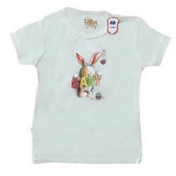 تی شرت آستین کوتاه نوزادیلایت مدل بیبی کد 271