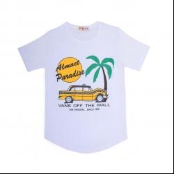 تیشرت آستین کوتاه پسرانه مدل تاکسی