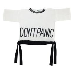 تی شرت آستین کوتاه زنانه مدل بغل گره ای کد 109
