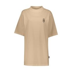 تی شرت آستین کوتاه زنانه پپا مدل MVP رنگ کرم