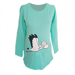 تی شرت بارداری مدل لک لک کد 40059000009