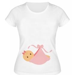 تی شرت بارداری زنانه کد 074