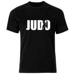 تی شرت مردانه نخی فلوریزا  طرح ورزشی جودو کد 001 تیشرت