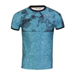 تی شرت ورزشی مردانه تکنیک پلاس 07 کد TS-144-SA