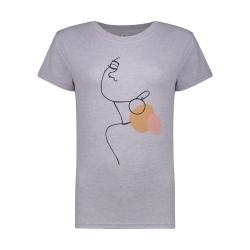 تی شرت زنانه مون مدل 163125060