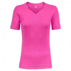 تی شرت زنانه ساروک مدل TZYDF08 رنگ سرخابی