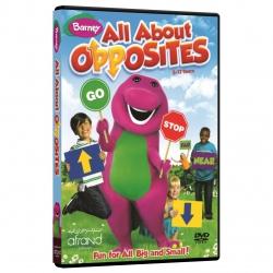 ویدئو آموزش زبان انگلیسی Barney All About Opposites انتشارات نرم افزاری افرند