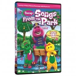 ویدئو آموزش زبان انگلیسی Barney Song From the Park  انتشارات نرم افزاری افرند