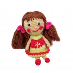 عروسک بافتنی مدل گلنار خانوم