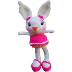 عروسک بافتنی طرح خرگوش کوچولو کد m1022