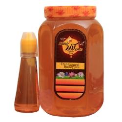 عسل کندو خوانسار – 2 کیلوگرم به همراه عسل کندو خوانسار – 300 گرم