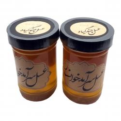 عسل طبیعی سرآمد چند گیاه – 900 گرم بسته 2 عددی