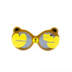 عینک آفتابی بچگانه مدل ژله ای کد t 1941