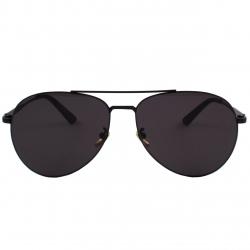 عینک آفتابی مدل Wilibolo Aviators Pure Black Matte