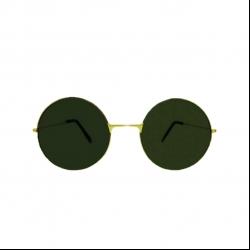 عینک آفتابی مدل گرد 0077pm