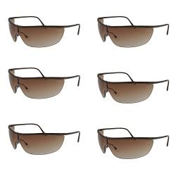 عینک ایمنی کد E267 مجموعه 6 عددی