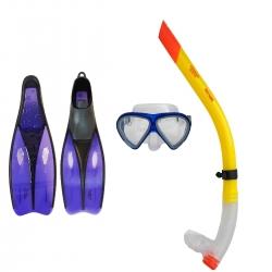 عینک و اسنورکل و فین غواصی آکوا پرو مدل 524244