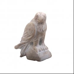 مجسمه سنگی  سفید طرح شاهین  مدل 1106100001