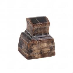 مجسمه تراش سنگ  قهوه ای طرح کوروش  مدل 1106100003