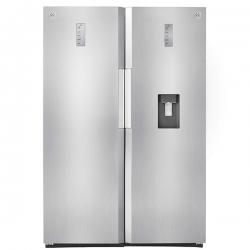 یخچال و فریزر دوقلو دوو مدل D4LR-0020SS/D4LF-0020SS