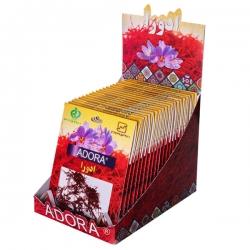 زعفران ادورا سرگل – 1 گرم بسته 20 عددی