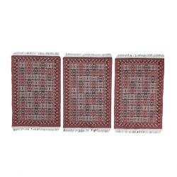 زیربشقابی مدل فرش کد ۰۲ مجموعه سه عددی