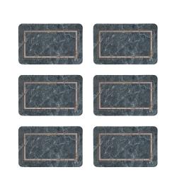 زیربشقابی طرح سنگ کد 8465 مجموعه 6 عددی