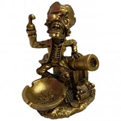 زیرسیگاری طرح اسکلت دزد دریایی کد MR-6979